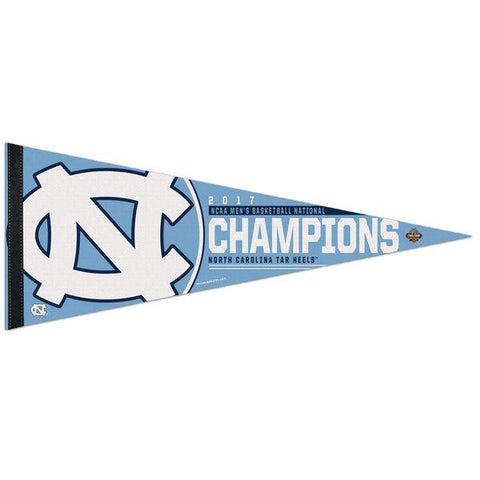 Shop North Carolina Tar Heels 2017 NCAA Men's Basketball Champions Premium Pennant - Sporting Up