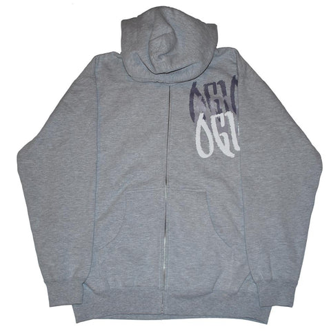 Shop Ogio Stealth Gray Full Zip Up With Pockets Sweatshirt Hoodie Jacket (M)