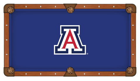 Arizona Wildcats HBS Blue with Red & White Logo Billiard Pool Table Cloth
