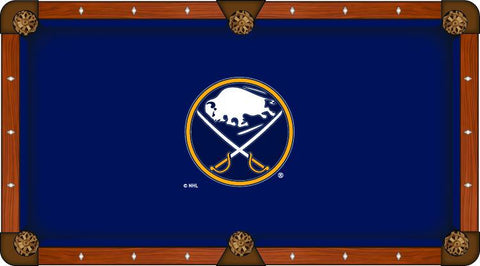 Buffalo Sabres Holland Bar Stool Co. Navy Billiard Pool Table Cloth