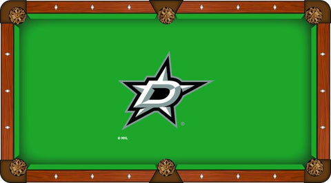 Dallas Stars Holland Bar Stool Co. Green Billiard Pool Table Cloth