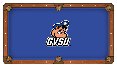 "Grand Valley State Lakers Blue with ""GVSU"" Logo Billiard Pool Table Cloth"