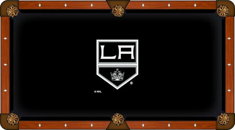 Los Angeles LA Kings Holland Bar Stool Co. Black Billiard Pool Table Cloth