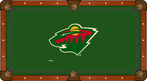 Minnesota Wild Holland Bar Stool Co. Green Billiard Pool Table Cloth