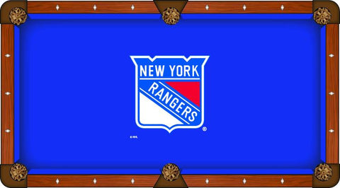 Shop New York NY Rangers Holland Bar Stool Co. Blue Billiard Pool Table Cloth