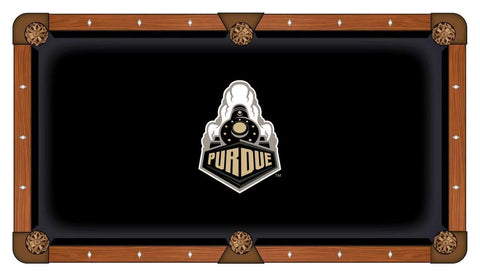 Purdue Boilermarkers Holland Bar Stool Co. Black Billiard Pool Table Cloth