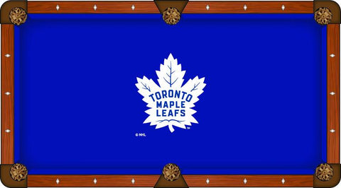 Toronto Maple Leafs Holland Bar Stool Co. Blue Billiard Pool Table Cloth
