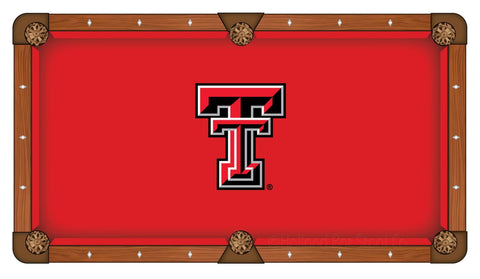 Shop Texas Tech Red Raiders Holland Bar Stool Co. Red Billiard Pool Table Cloth - Sporting Up