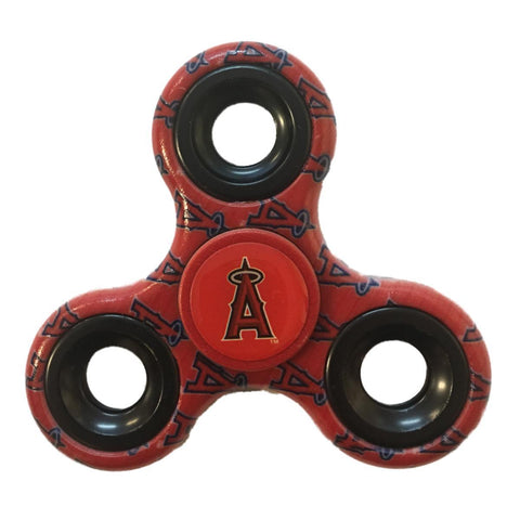Los Angeles Angels of Anaheim Multi-Logo Three Way Diztracto Fidget Hand Spinner - Sporting Up