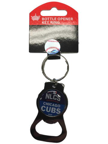 Chicago Cubs 2016 MLB Postseason NLCS Metal Bottle Opener Keychain
