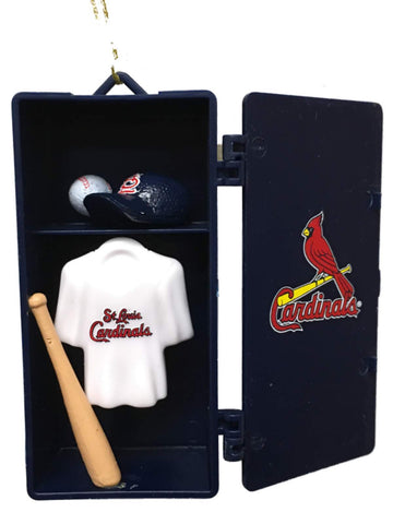 St. Louis Cardinals Team Sports Red Team Locker Christmas Tree Ornament