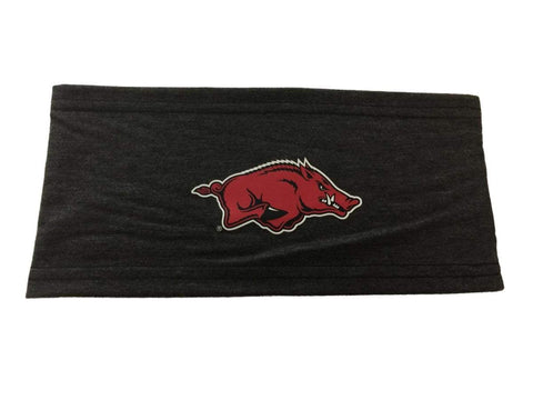 Shop Arkansas Razorbacks Top of the World Gray Strong Sweat Wicking Workout Headband