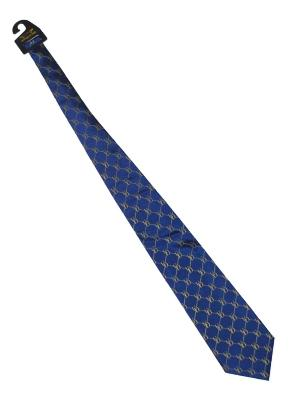 Shop Delaware Fightin' Blue Hens Eagles Wings Blue Yellow Multiple Logo Silk Neck Tie - Sporting Up