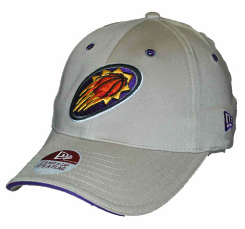 Phoenix Suns New Era Khaki Purple Flexfit Hat Cap