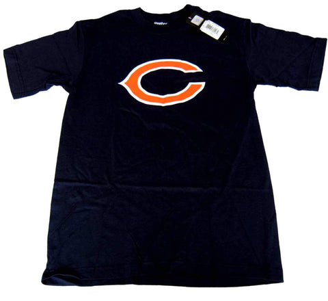 "Shop Chicago Bears Reebok Navy ""C"" Logo Short Sleeve T-Shirt (S)"