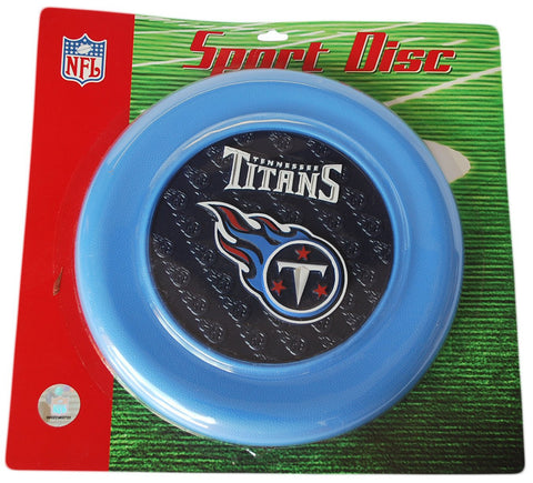 Shop Tennessee Titans Hunter Manufacturing Group Frisbee Sport Disc Blue