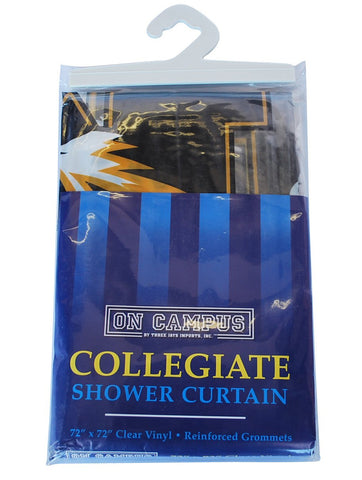 "Shop Missouri Tigers On Campus Collegiate Clear Vinyl Shower Curtain 72""x72"" - Sporting Up"