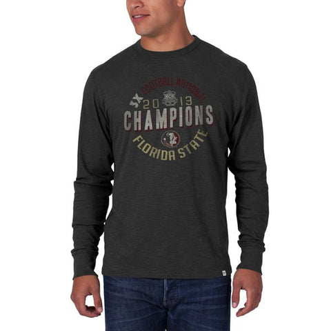 Shop Florida State Seminoles 47 Brand 2013 National Champions Long Sleeve T-Shirt