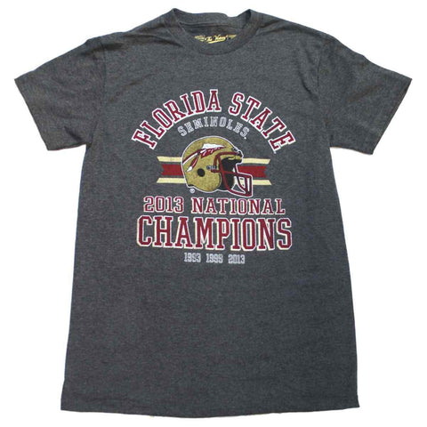 Shop Florida State Seminoles The Victory 2013 BCS National Champs Grey T-Shirt
