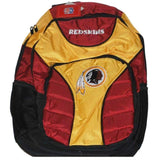 Washington Redskins Concept One Maroon Gold Padded Embroidered Backpack