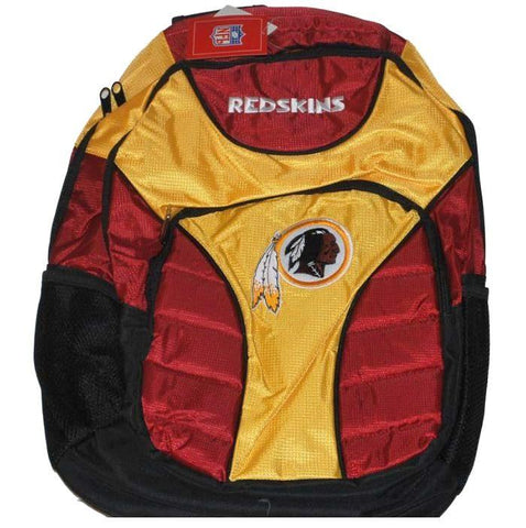 Shop Washington Redskins Concept One Maroon Gold Padded Embroidered Backpack