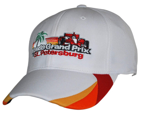 Shop Honda Grand Prix of St. Petersburg 2013 Lids White Fitted Hat Cap (S/M)