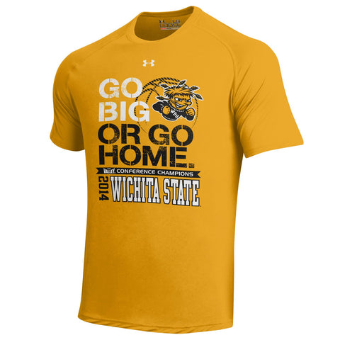 Shop Wichita State 2014 Missouri Valley Conference Under Armour Champions T-Shirt