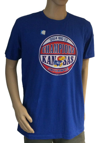 Shop Kansas Jayhawks KU 2014 Big 12 Basketball Champions The Victory Blue T-Shirt
