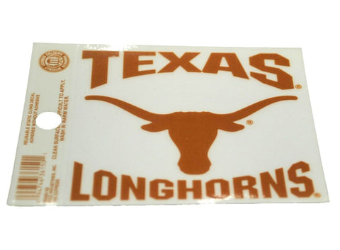 Shop Texas Longhorns Rico Industries Reusable Static Cling Decal (Sold in set of 2)