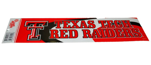 Shop Texas Tech Red Raiders Jenkins Enterprises Red Window Decal (Sold in set of 2) - Sporting Up