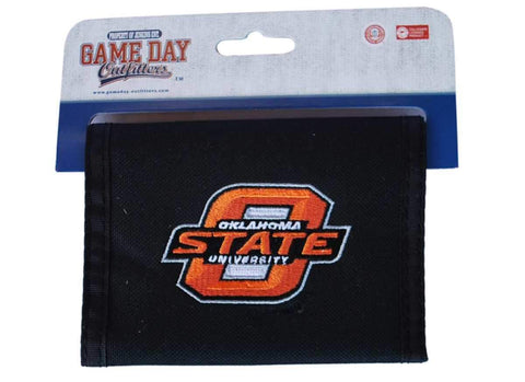 "Shop Oklahoma State Cowboys Game Day Outfitters Mens Black Wallet 4.9"" x 3.5"""