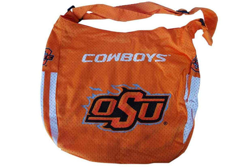 "Shop Oklahoma State Cowboys Game Day Outfitters Womens Mesh Orange Purse 16"" x 13"""