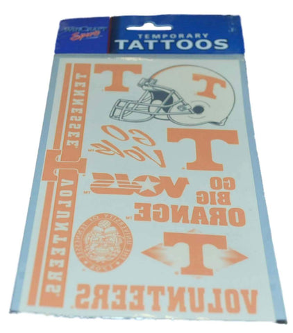 Shop Tennessee Volunteers WinCraft Gameday Orange Temporary Tattoos (Set of 2)