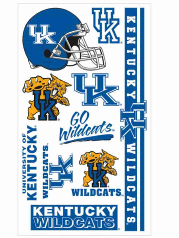 Shop Kentucky Wildcats WinCraft Gameday Blue Orange Temporary Tattoos (Set of 2) - Sporting Up