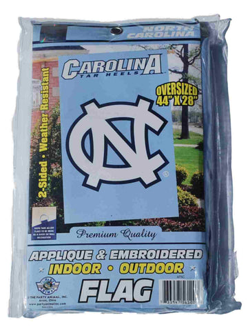 "Shop North Carolina Tar Heels Party Animal Inc Oversized Blue Vertical Flag 44"" x 28"" - Sporting Up"