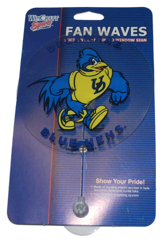 Shop Delaware Fightin' Blue Hens WinCraft Blue Suction Cup Mounted Car Window Sign