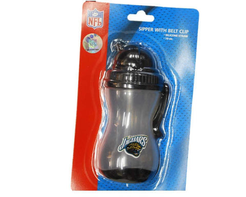 Shop Jacksonville Jaguars NFL Black 10 oz. Sipper Sippy Cup with Belt Clip