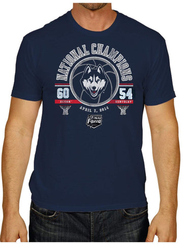 Shop Connecticut Uconn Huskies Victory 2014 Basketball National Champions T-Shirt - Sporting Up