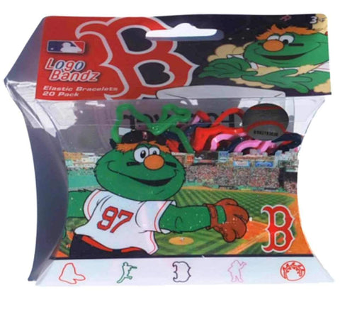 Shop Boston Red Sox MLB Forever Collectibles YOUTH Silly Bandz Logo Bandz (20 Pack)