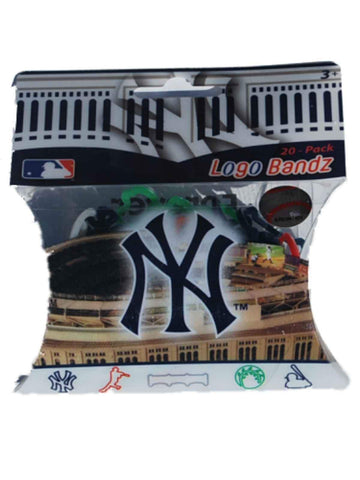 Shop New York Yankees MLB Forever Collectibles YOUTH Silly Bandz Logo Bandz (20 Pack)