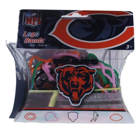 Shop Chicago Bears NFL Forever Collectibles YOUTH Silly Bandz Logo Bandz (20 Pack)