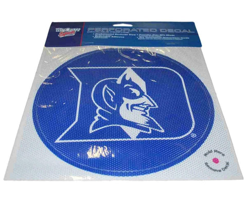 Shop Duke Blue Devils WinCraft Blue Removable Adhesive 50% Shade Perforated Decal - Sporting Up