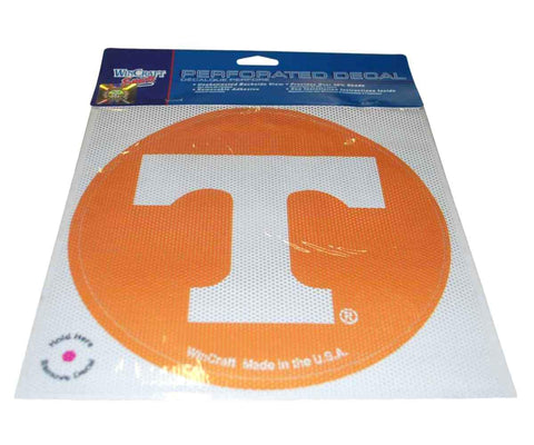 Shop Tennessee Volunteers WinCraft Orange Removable Adhesive Perforated Decal