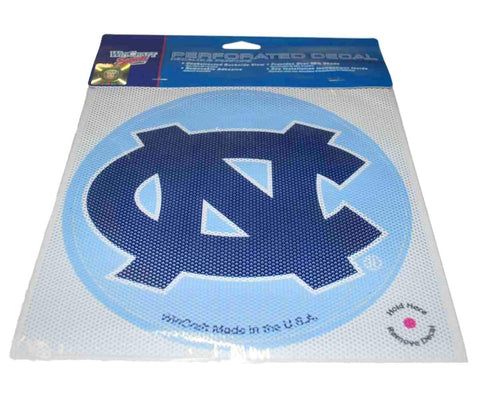 Shop North Carolina Tar Heels WinCraft Blue Removable Adhesive Perforated Decal