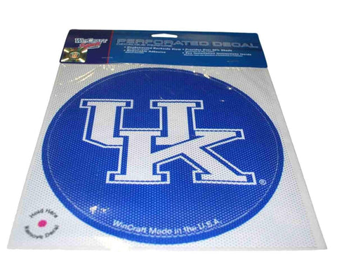 Shop Kentucky Wildcats WinCraft Blue Removable Adhesive 50% Shade Perforated Decal