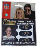 St. Louis Rams Siskiyou Face Decorations, Magnets, and Pen Gameday Set - Sporting Up