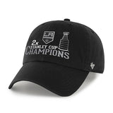 Los Angeles Kings 47 Brand NHL 2X Stanley Cup Champions Adjustable Hat Cap