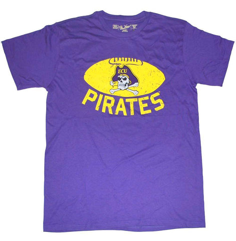 Shop East Carolina Pirates The Victory Purple Chris Johnson #5 Player T-Shirt
