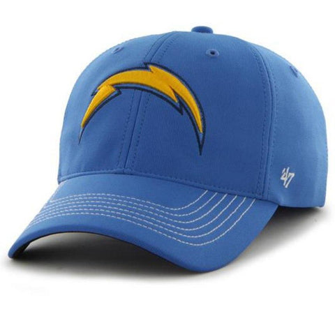 Shop Los Angeles Chargers 47 Brand Blue Game Time Closer Performance Flexfit Hat Cap - Sporting Up