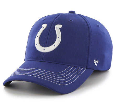 Shop Indianapolis Colts 47 Brand Blue Game Time Closer Performance Flexfit Hat Cap